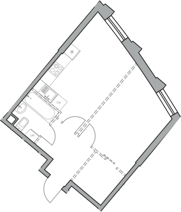 Своб. план., 42.26 м²