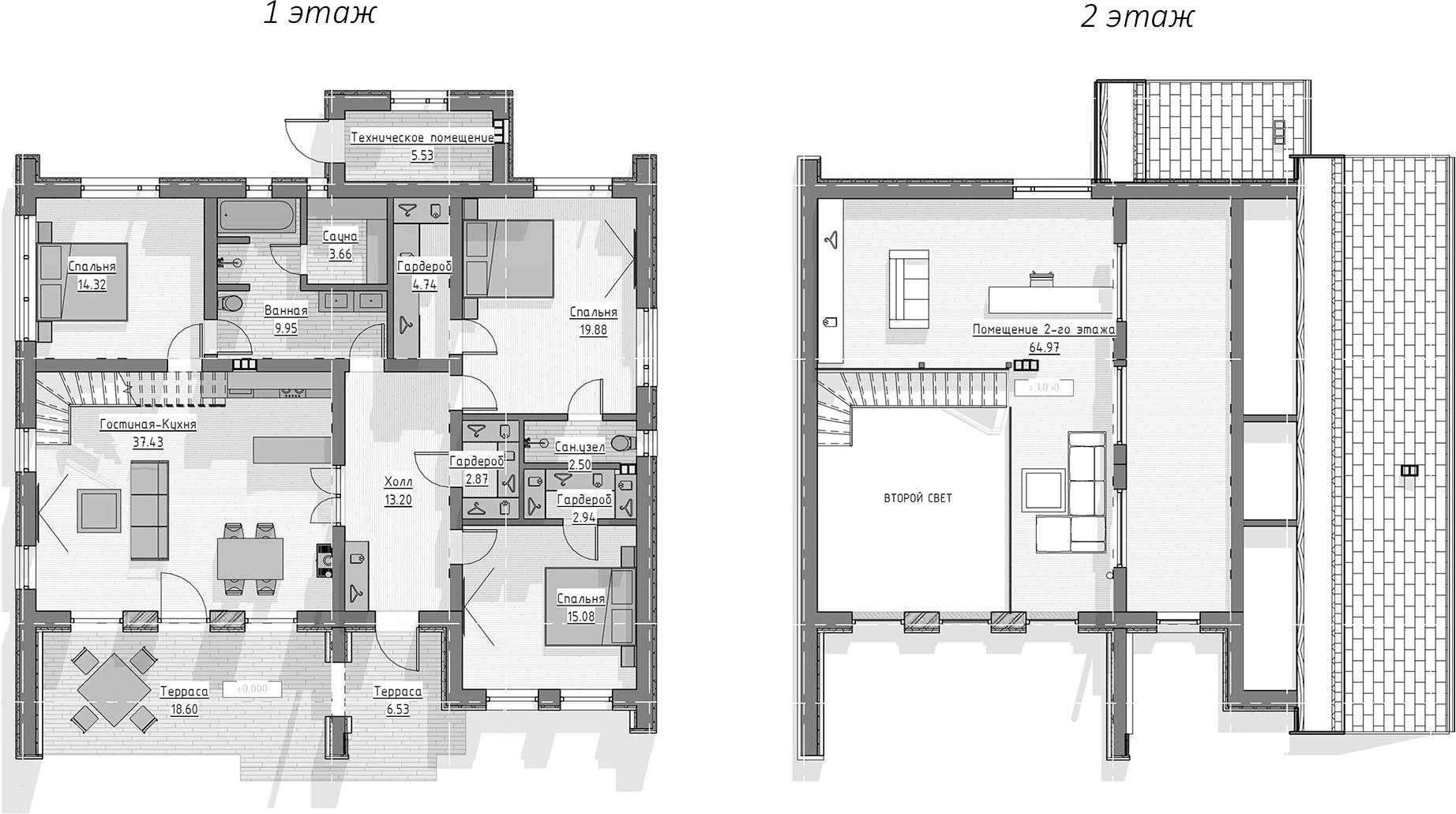 Коттедж, 222.2 м²– 2