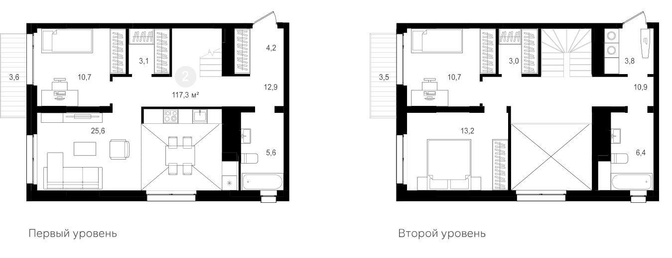 4Е-к.кв, 117.3 м²