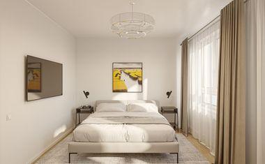 2Е-комнатная, 33.88 м²– 3
