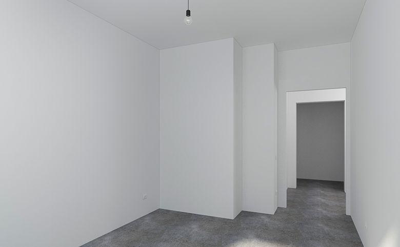 2Е-комнатная квартира, 42.77 м², 2 этаж – 3