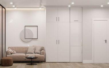1-комнатная, 45.2 м²– 1