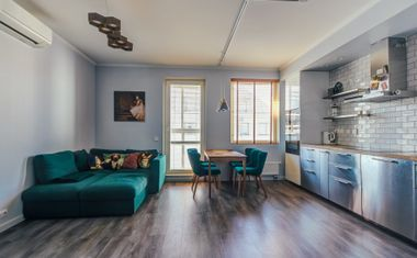 2-комнатная, 56.65 м²– 5