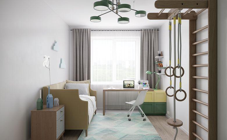 4Е-комнатная квартира, 73.72 м², 9 этаж – 2