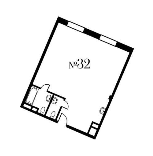 Свободная планировка, 69.9 м²– 2