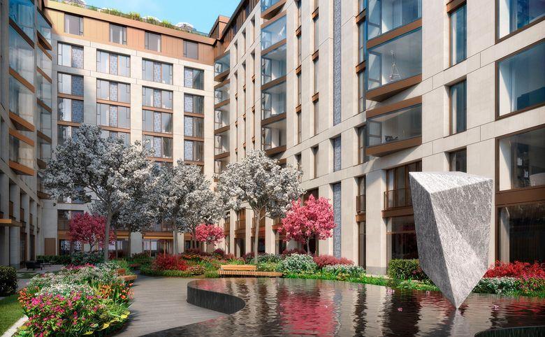 4Е-комнатная квартира, 141.7 м², 2 этаж – 6