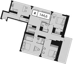 Своб. план., 144.6 м²