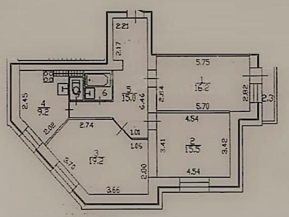 3-к.кв (евро), 84 м²