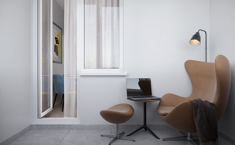 4Е-комнатная квартира, 73.72 м², 9 этаж – 4