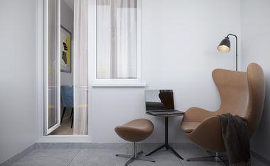 1-комнатная, 36.53 м²– 5