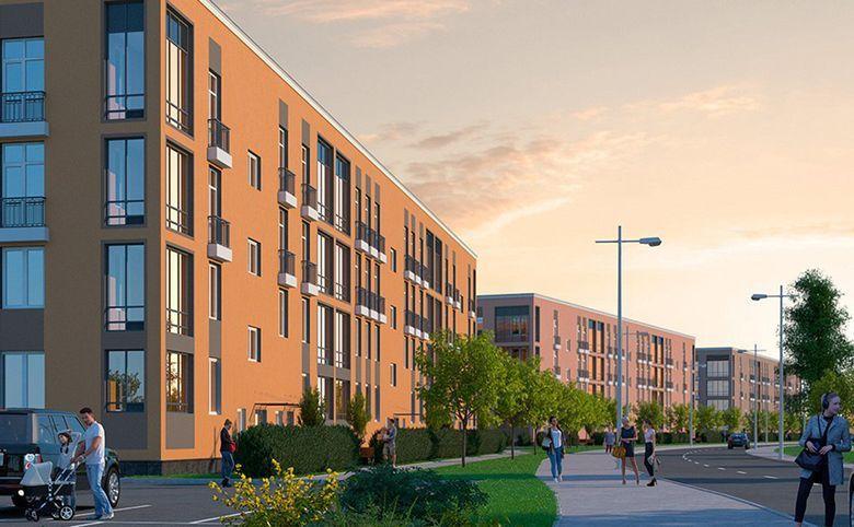 3Е-комнатная квартира, 55.62 м², 2 этаж – 14