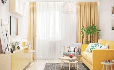 1-комнатная, 40.79 м²– 5