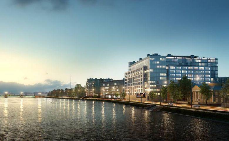 4Е-комнатная квартира, 155.5 м², 9 этаж – 8