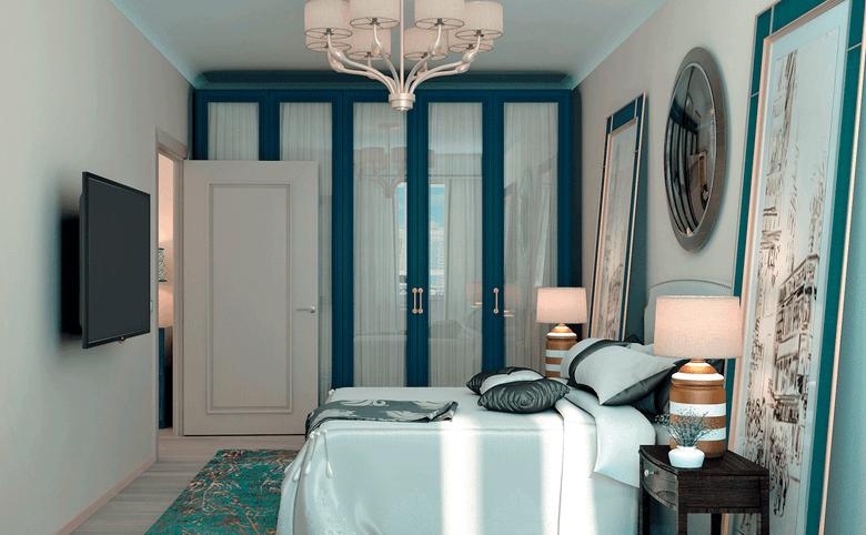 2Е-комнатная квартира, 66.13 м², 16 этаж – 4