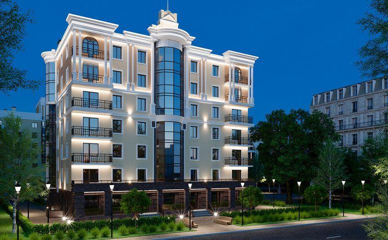 4-комнатная квартира (евро), 130.63 м², 3 этаж – 3