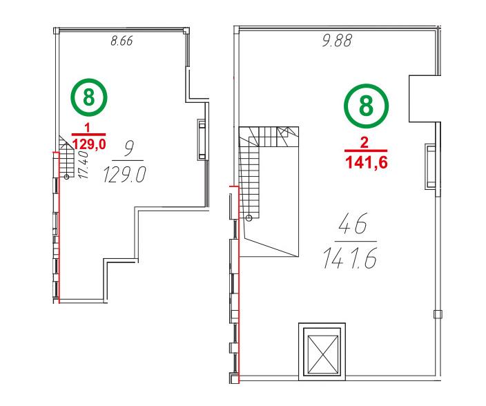 Свободная планировка, 271 м²– 2