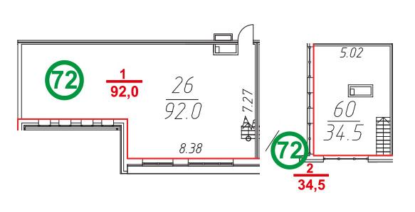 Своб. план., 126.5 м²
