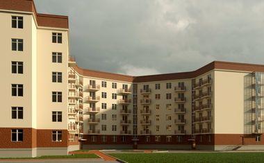 2Е-комнатная, 42.33 м²– 4