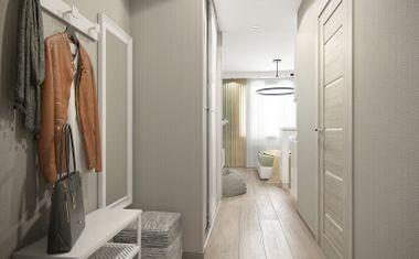 3Е-комнатная, 61.34 м²– 4