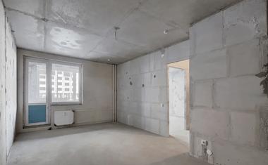 1-комнатная, 37.38 м²– 3