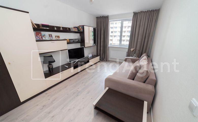1-комнатная квартира, 35.62 м², 4 этаж – 4