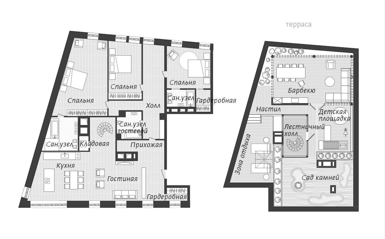 4Е-комнатная, 202.2 м²– 2