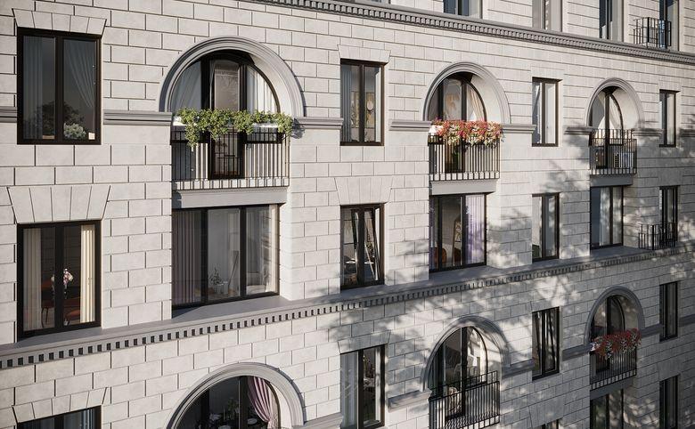 2Е-комнатная квартира, 44.3 м², 2 этаж – 2