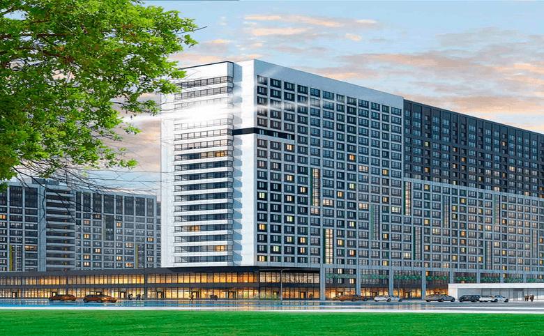 2Е-комнатная квартира, 36.46 м², 2 этаж – 16