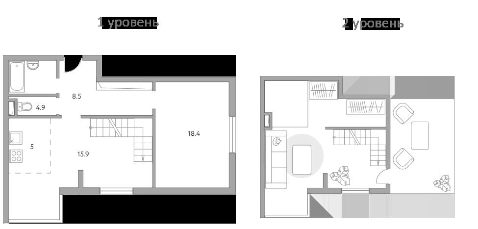 Своб. план., 65.5 м²