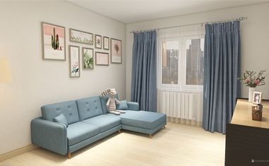 1-комнатная, 33.16 м²– 1