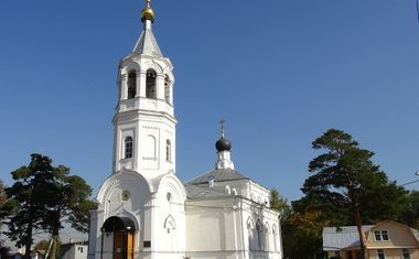Храм Рождества Христова В Митино