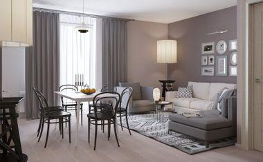 1-комнатная, 35.62 м²– 3