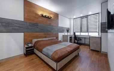 1-комнатная, 42.88 м²– 5