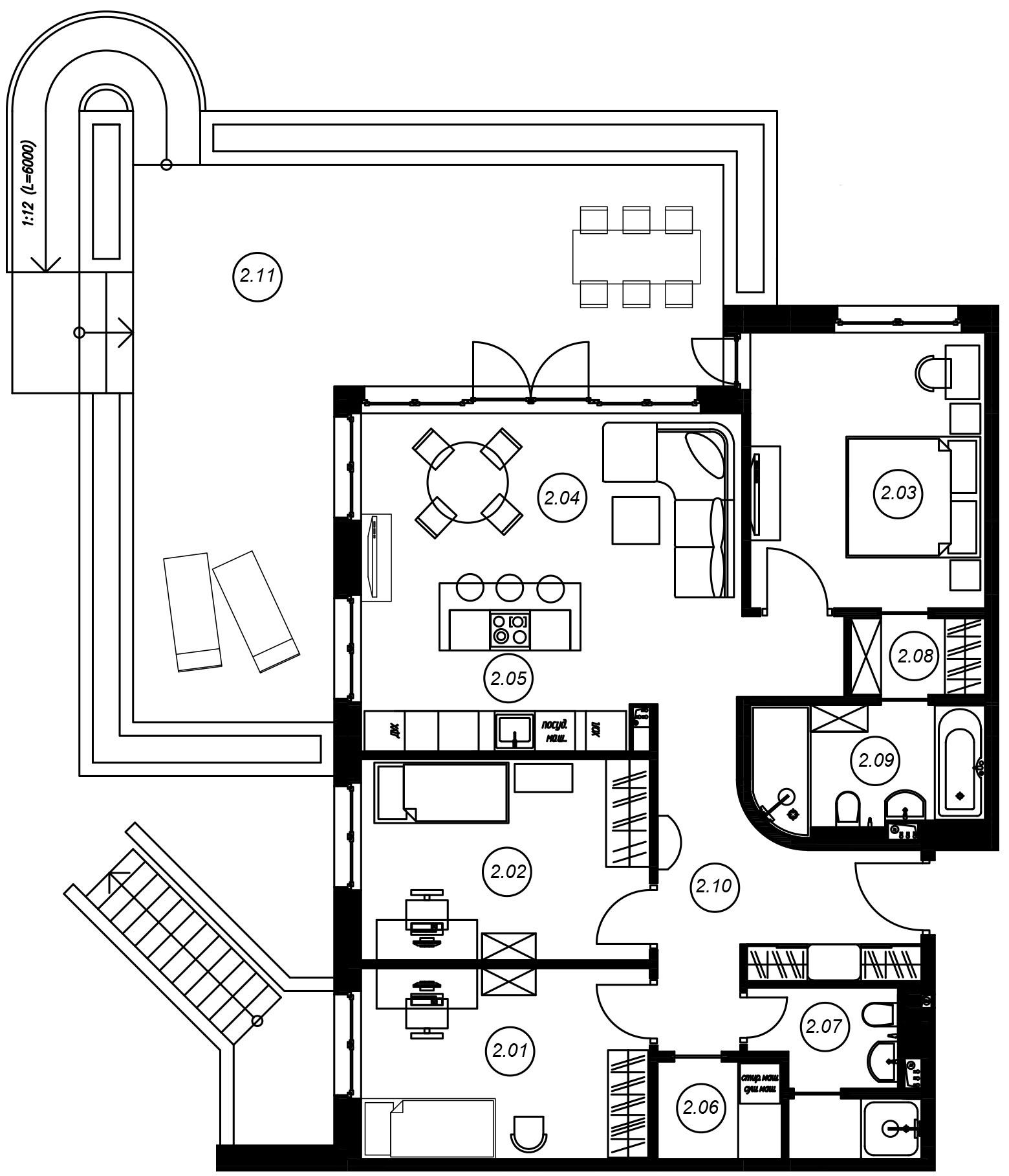4Е-комнатная, 96.78 м²– 2