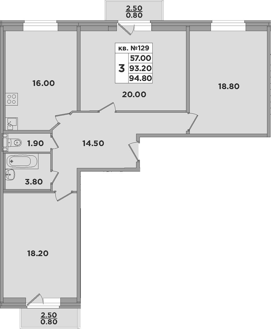 4-к.кв (евро), 98.2 м²