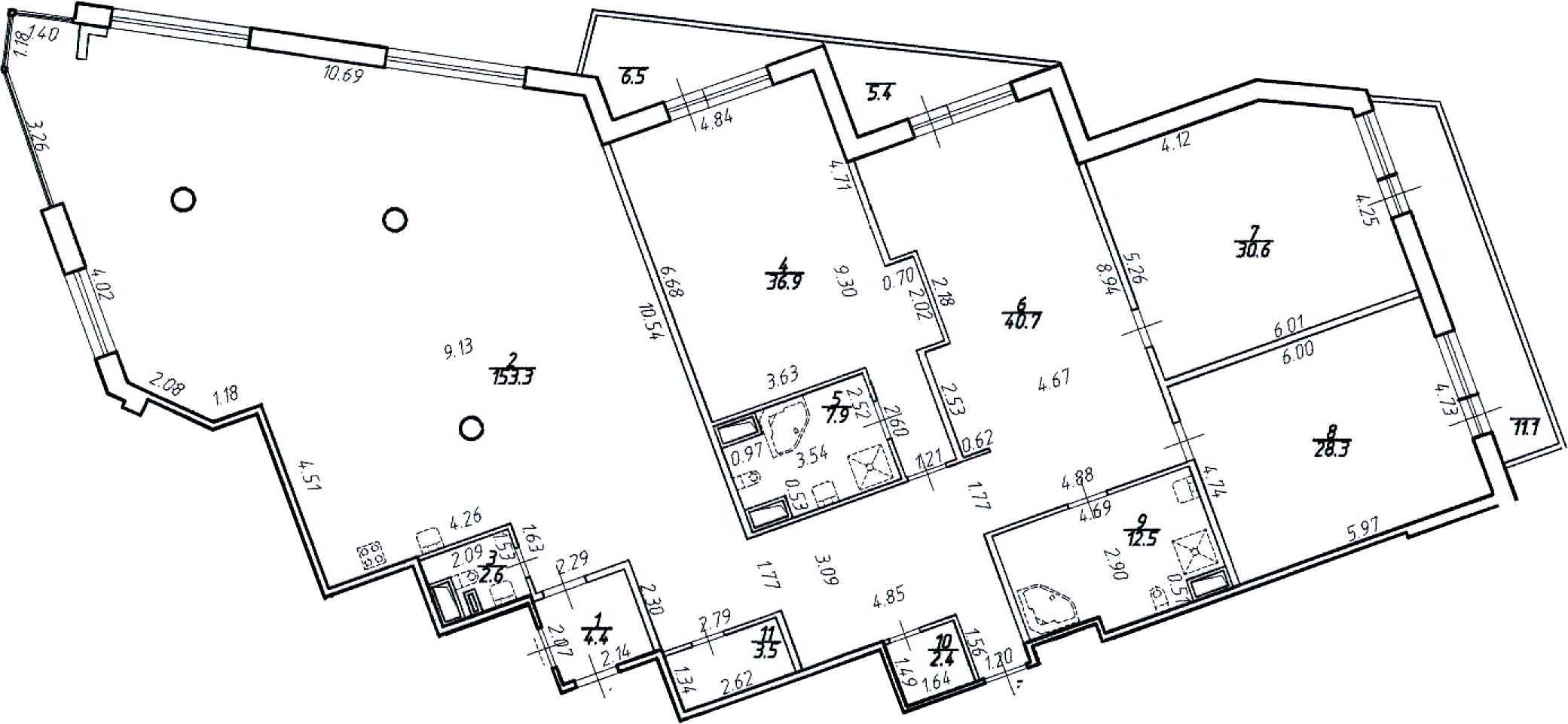 4-к.кв (евро), 346.12 м²