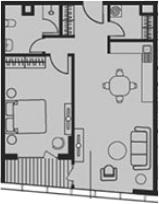 Своб. план., 59.54 м²