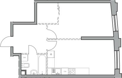 Своб. план., 48.4 м²