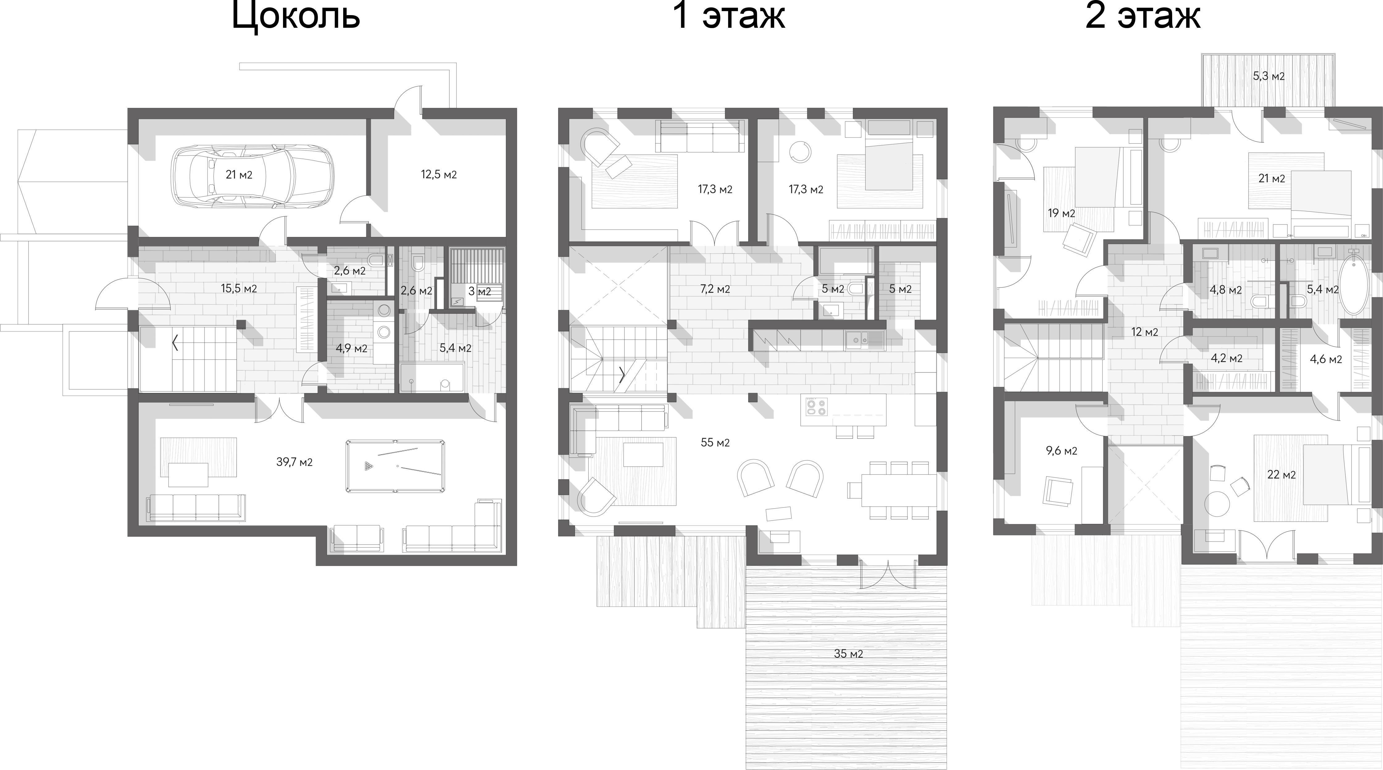 Коттедж, 330 м²– 2