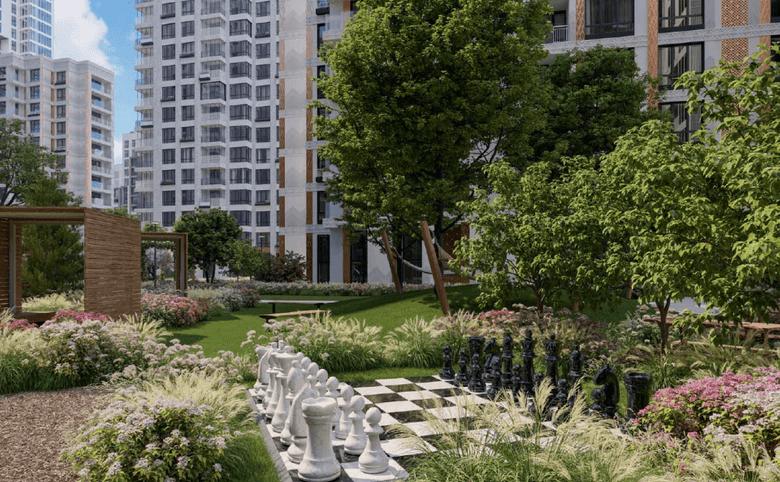 Живописный двор — сад от архитектурного бюро «WOWHAUS»