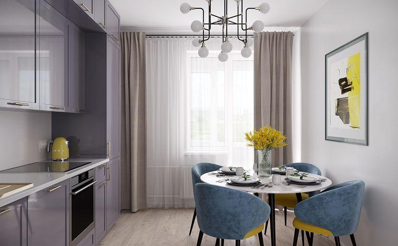 4Е-комнатная квартира, 73.72 м², 9 этаж – 3