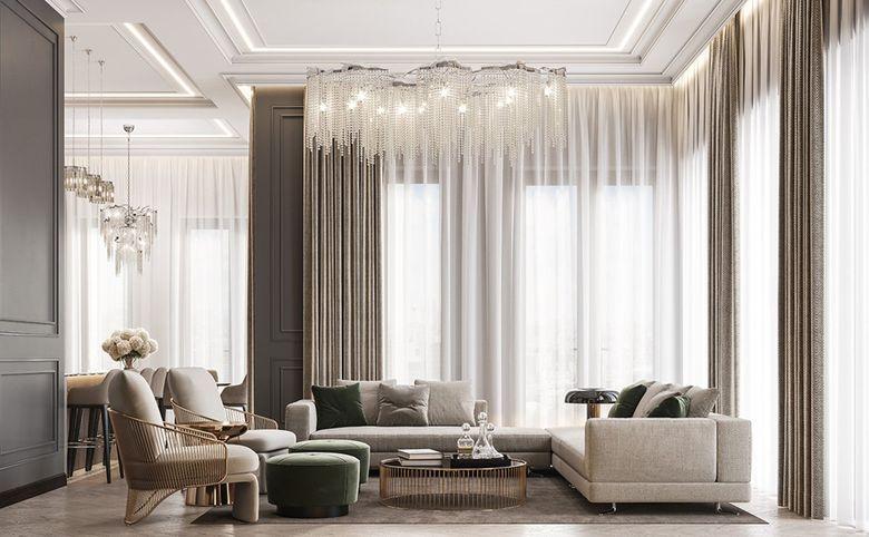 3Е-комнатная квартира, 78.99 м², 8 этаж – 1