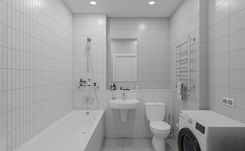 3Е-комнатная квартира, 55.76 м², 18 этаж – 10