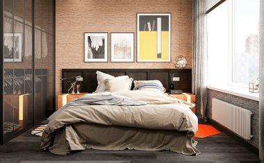 1-комнатная, 38.44 м²– 1