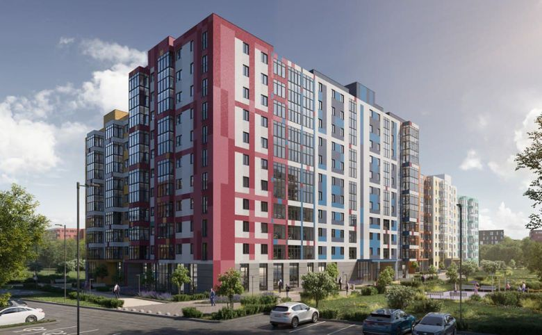3-комнатная квартира, 73 м², 4 этаж – 12