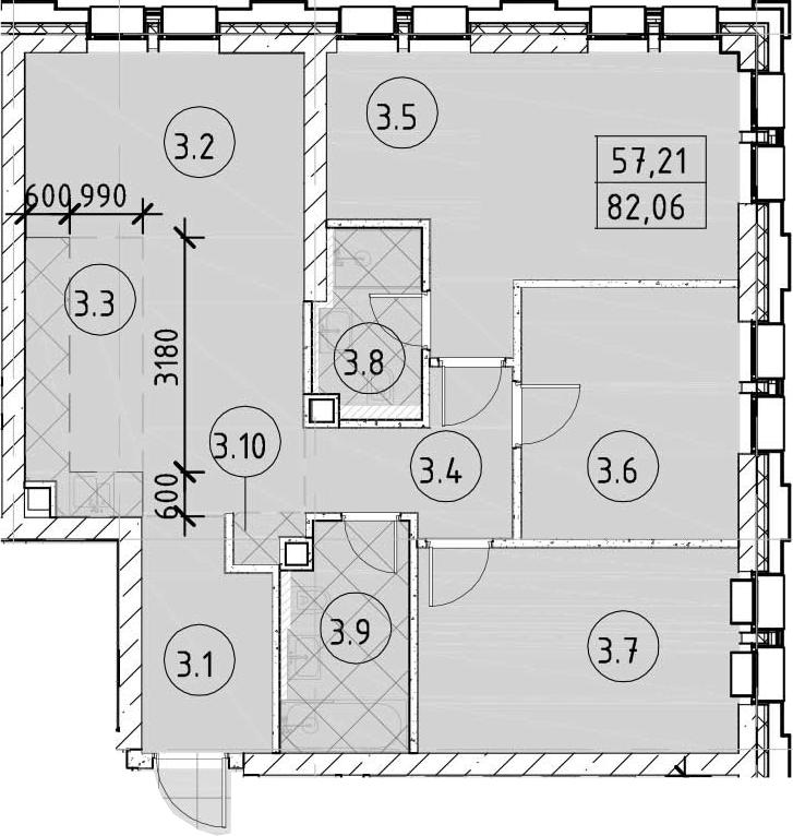 4-к.кв (евро), 82.06 м²