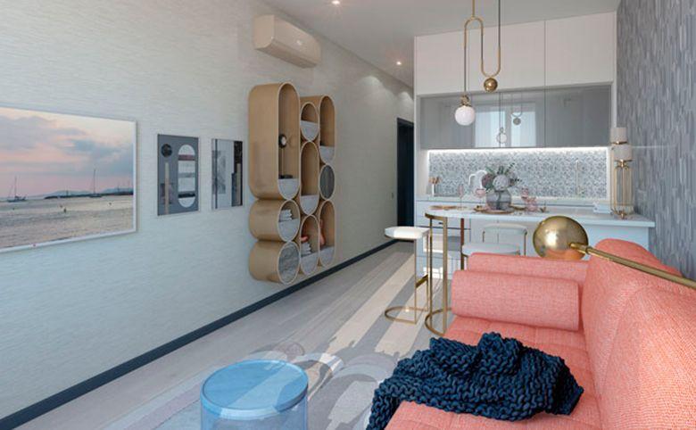 2-комнатная квартира, 61.07 м², 14 этаж – 7