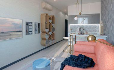 1-комнатная, 38.44 м²– 8