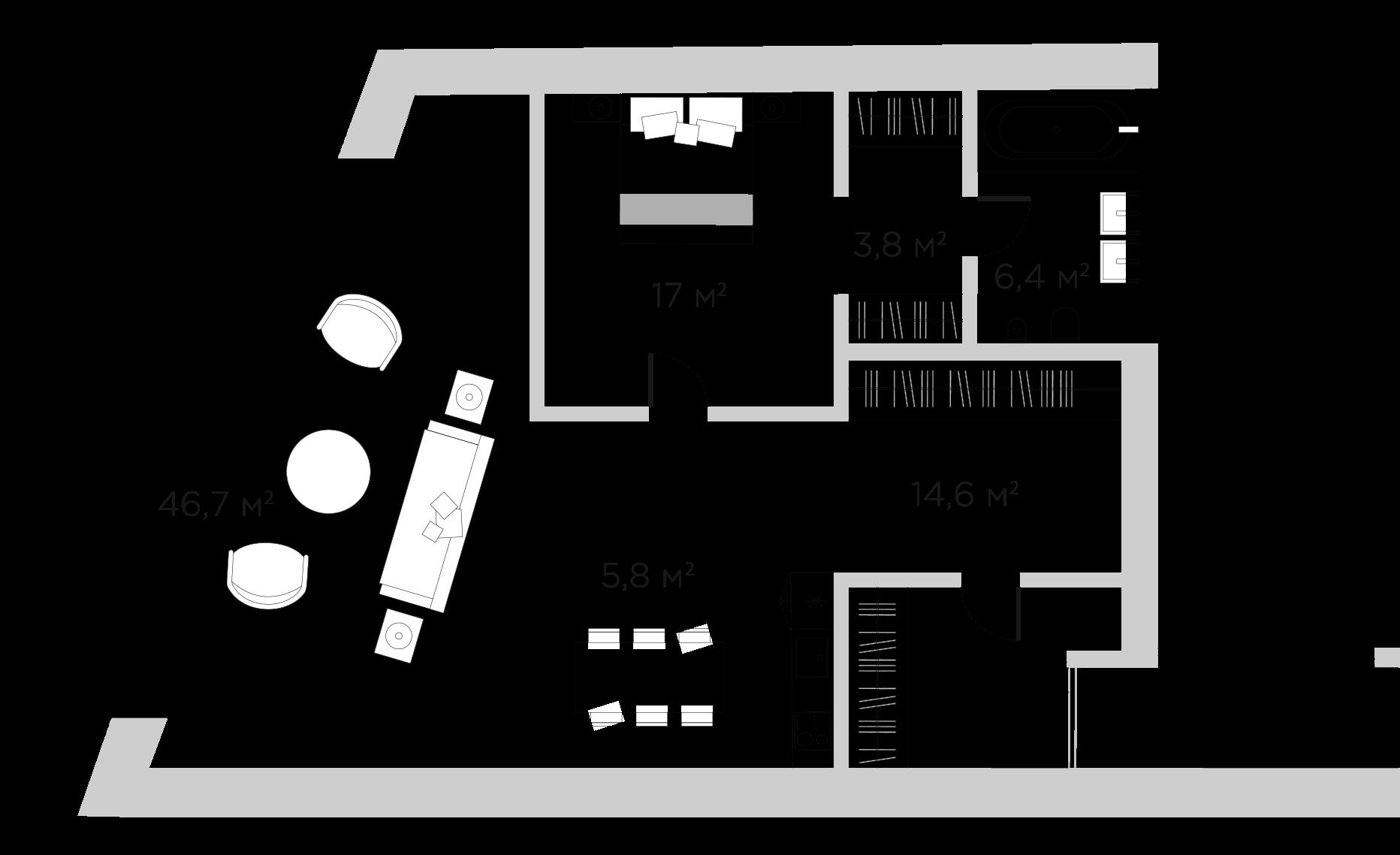 2Е-к.кв, 94.28 м²