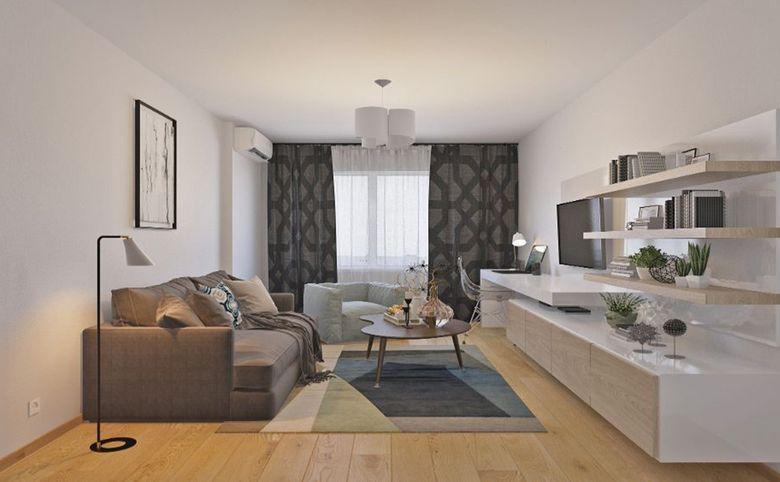 1-комнатная квартира, 38.7 м², 7 этаж – 1